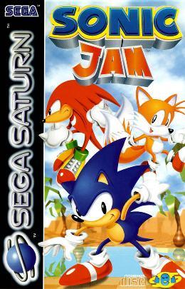 Carátula de Sonic Jam para Saturn