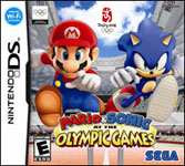 Carátula de Mario & Sonic en los Juegos Olímpicos para Nintendo DS