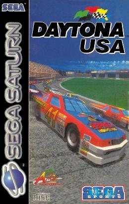 Carátula de Daytona USA para Saturn