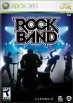 Carátula de Rock Band para Xbox 360
