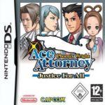 Carátula de Phoenix Wright Ace Attorney: Justice for All para Nintendo DS