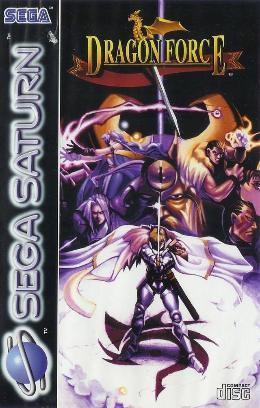 Carátula de Dragon Force para Saturn