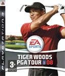 Carátula de Tiger Woods PGA Tour 2008 para PlayStation 3