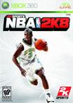 Carátula de NBA 2K8 para Xbox 360