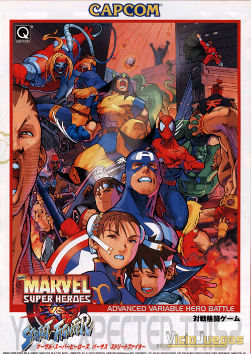 Marvel Super Heroes Vs Street Fighters [Portable][1 Link]