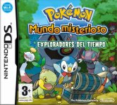 Carátula de Pokémon Mundo Misterioso: Exploradores del Tiempo para Nintendo DS