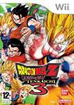 Carátula de Dragon Ball Z: Budokai Tenkaichi 3 para Wii