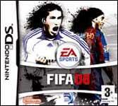 Carátula de FIFA 08 para Nintendo DS