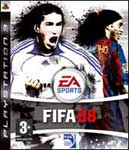 Car�tula de FIFA 08 para PlayStation 3