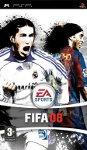 Car�tula de FIFA 08 para PlayStation Portable