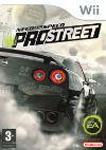Carátula de Need for Speed: ProStreet para Wii
