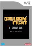 Carátula o portada No oficial (Montaje) del juego Balloon Fight para Wii CV - Wii Ware