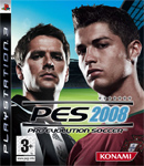 Carátula de Pro Evolution Soccer 2008 para PlayStation 3
