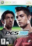 Carátula de Pro Evolution Soccer 2008 para Xbox 360