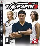 Carátula de Top Spin 3 para PlayStation 3