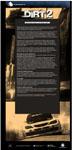Carátula o portada Flier del juego Colin McRae: DiRT 2 para PC