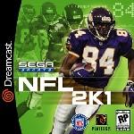 Carátula de NFL 2K1 para Dreamcast