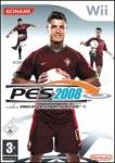 Carátula de Pro Evolution Soccer 2008