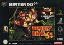 Carátula de Donkey Kong 64 para Nintendo 64