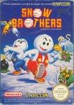 Carátula de Snow Bros. para NES