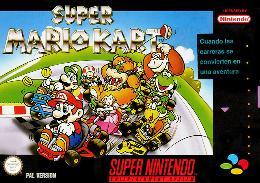 Carátula de Super Mario Kart para Super Nintendo