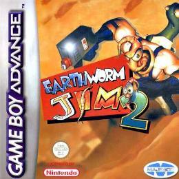 Carátula de Earthworm Jim 2 para Game Boy Advance