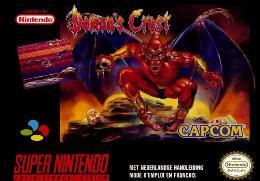 Carátula de Demon's Crest para Super Nintendo