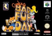 Carátula de Conker's Bad Fur Day para Nintendo 64