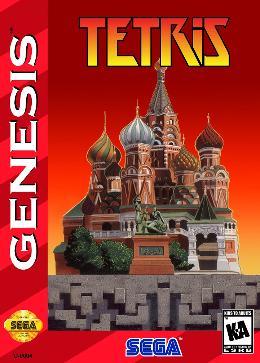 Carátula de Tetris para Mega Drive