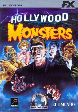 Carátula o portada Relanzamiento del juego Hollywood Monsters para PC