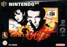 Carátula de GoldenEye 007 para Nintendo 64