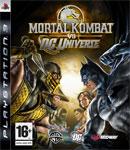 Carátula de Mortal Kombat vs. DC Universe para PlayStation 3
