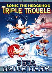 Carátula de Sonic the Hedgehog: Triple Trouble para Game Gear