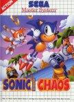 Carátula de Sonic Chaos para Master System