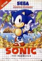 Carátula de Sonic the Hedgehog para Master System