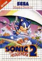 Carátula de Sonic The Hedgehog 2 para Master System