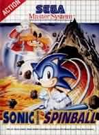 Carátula de Sonic Spinball para Master System