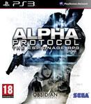 Carátula de Alpha Protocol para PlayStation 3