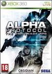 Car�tula de Alpha Protocol para Xbox 360