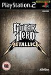 Car�tula de Guitar Hero: Metallica para PlayStation 2