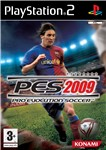 Carátula de Pro Evolution Soccer 2009 para PlayStation 2
