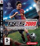Car�tula de Pro Evolution Soccer 2009 para PlayStation 3