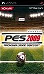 Carátula de Pro Evolution Soccer 2009 para PlayStation Portable