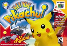 Carátula de Hey You, Pikachu! para Nintendo 64