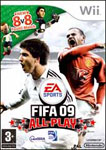 Car�tula de FIFA 09 All-Play