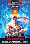 Carátula de Street Fighter II': Special Champion Edition para Mega Drive