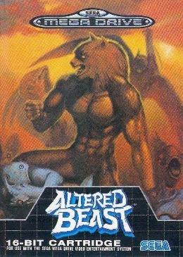 Carátula de Altered Beast para Mega Drive