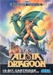 Carátula de Alisia Dragoon para Mega Drive