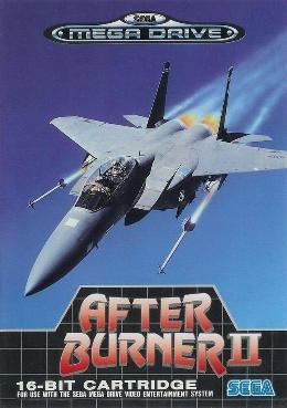 Carátula o portada Europea del juego After Burner II para Mega Drive