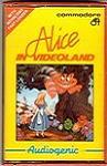Carátula o portada EEUU del juego Alice in Videoland para Commodore 64